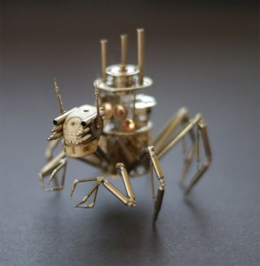 Recycled-watches-turned-into-creatures-2